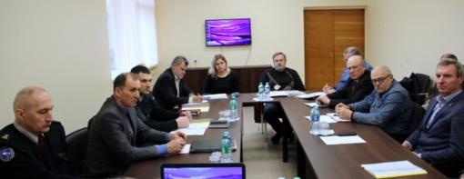 Įvyko Zarasų rajono savivaldybės ekstremaliųjų situacijų komisijos posėdis