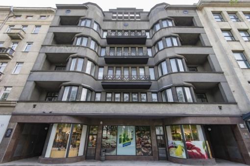 """""""Pažangos"""" rūmus Kauno Laisvės alėjoje perkantys verslininkai juose planuoja viešbutį"""