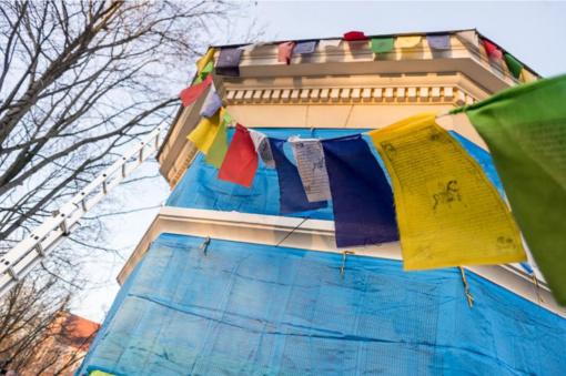 Vilniuje minimi tibetiečių Naujieji metai