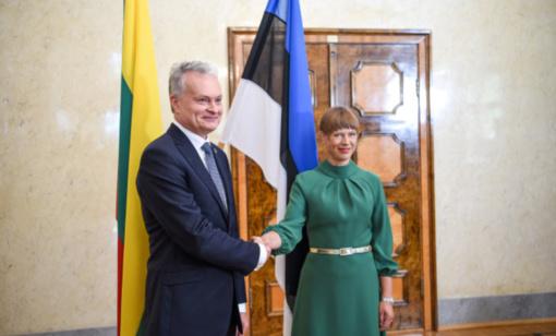 Prezidentas pasveikino Estiją 102-ųjų Nepriklausomybės metinių proga