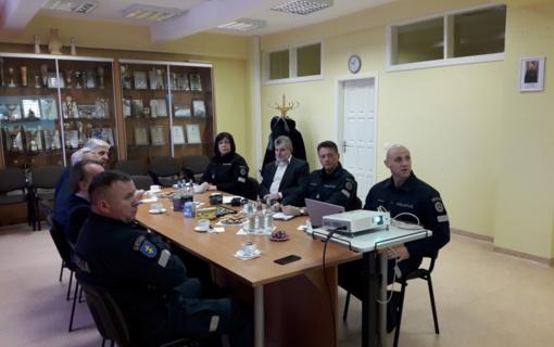 Policijos ir probacijos pareigūnų susitikimai su Zarasų rajono gyventojais