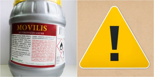 """AB """"Alytaus chemija"""" į Lietuvą įvežtas autokonservantas neatitiko saugos reikalavimų"""