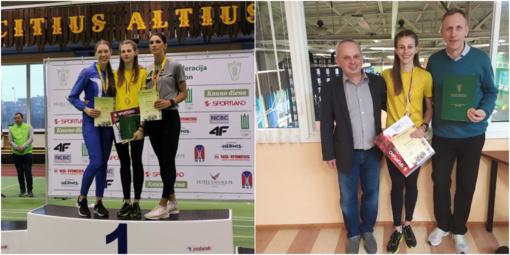 Pakruojietė bėgikė Ramunė Klybaitė – Lietuvos čempionė