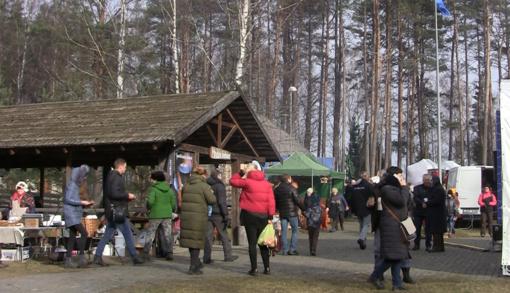 Mindūnuose surengta tradicinė žiemos žūklės šventė (vaizdo įrašas)
