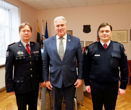 Biržų priešgaisrinei gelbėjimo tarnybai vadovaus Mantgirdas Ivaška
