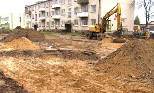 Baisogala gražėja: įgyvendinamas dar vienas kompleksinis infrastruktūros modernizavimo ir plėtros projektas