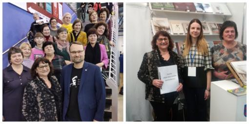 Vilkaviškio viešosios bibliotekos kolektyvas knygų mugėje lankėsi jau 15-ą kartą