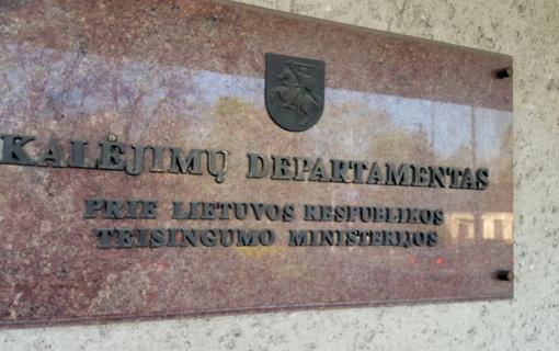 Piktnaudžiavimą tiriantys Kalėjimų departamento kriminalistai krėtė profesinę sąjungą