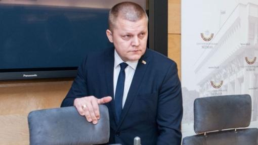 D. Gaižauskas: pranešimas dėl galimai neteisėtai rinktos informacijos nepasitvirtino
