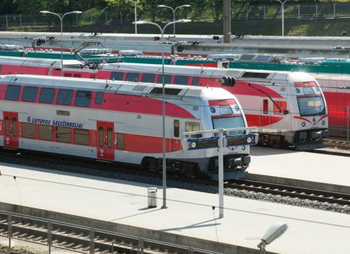 Rizikos tašku dėl koronaviruso gali būti laikoma ir Kauno geležinkelio stotis