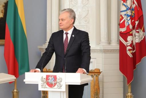 G. Nausėda nepritaria opozicijos siūlymui keisti A. Verygą operacijų vadovo pareigose