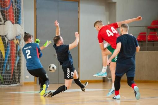 Praūžė jubiliejinis Lietuvos valstybės atkūrimo dienos futsal turnyras