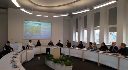 Komisijoje aptarti eismo saugumo gerinimo klausimai
