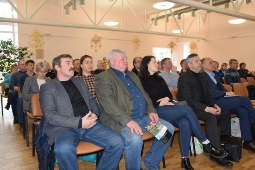 Seminare – ūkininkai iš viso regiono