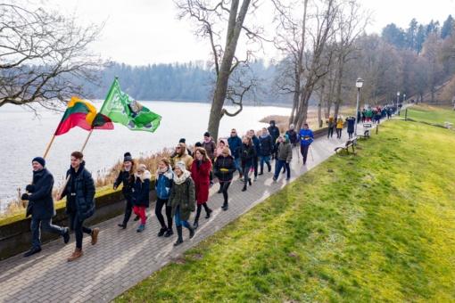 Birštono jaunimo klubas vasario mėnesį sutiko itin aktyviai