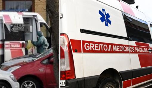 Iš Rokiškio į Panevėžio ligoninę atvežtas sunegalavęs vyras: įtariamas koronaviruso atvejis