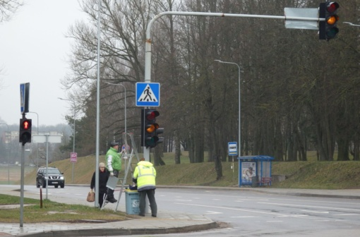 Žaliosios rodyklės vėl tarnaus vairuotojams