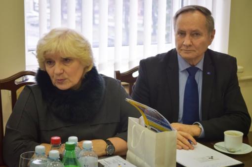 Meras A. Bautronis susitiko su Šiaulių universiteto atstovais