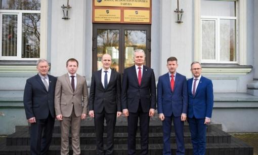 Marijampolės apskrityje lankėsi Lietuvos Respublikos Prezidentas Gitanas Nausėda