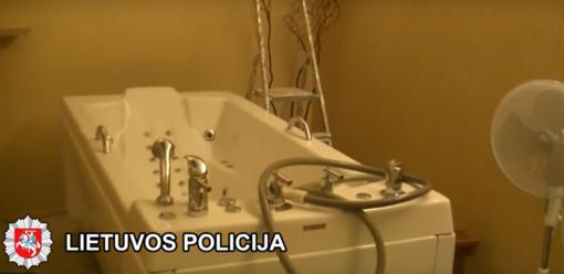 Klaipėdoje baigtas tyrimas dėl prostitucijos organizavimo ir kitų nusikaltimų (vaizdo įrašas)