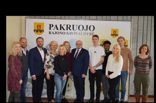 Savivaldybėje apsilankė švedų delegacija