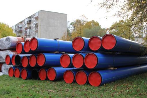 Bus plėtojami vandentiekio ir nuotekų tinklai Lieporių–Šventupio gyvenamųjų namų rajone