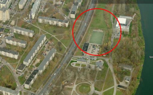 Vilnius kviečia kurti naują lengvosios atletikos maniežą