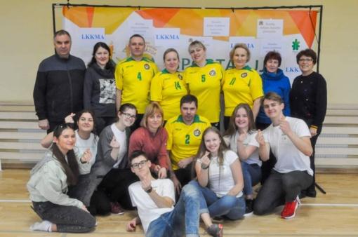 Sportas vėl subūrė miesto mokytojus