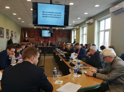 Patvirtintas 2020 metų biudžeto projektas