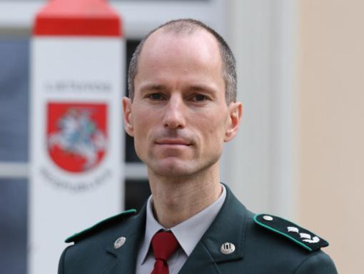 Vilniaus rinktinei vadovaus D. Škarnulis