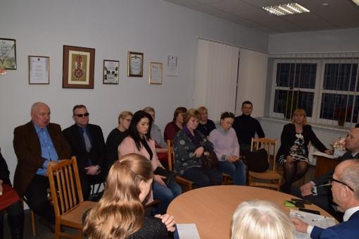 Ataskaitiniai seniūnijų susirinkimai Stakliškėse ir Šilavote