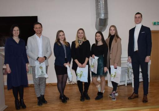 Išrinkti nauji savivaldybės jaunimo reikalų tarybos jaunimo atstovai