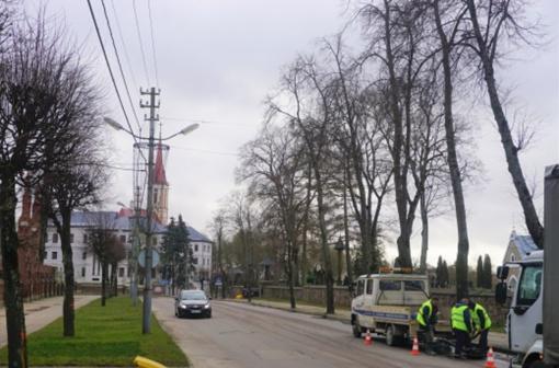 Įsibėgėja Vilniaus gatvės rekonstrukcijos darbai