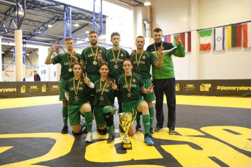 Lietuvos rinktinė beisbolo-5 Europos čempionate iškovojo sidabrą
