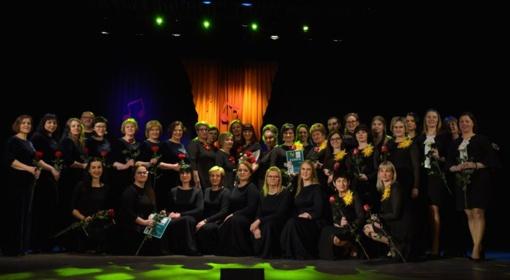 Vokalinių ansamblių šventė Skuode nepaliko abejingų