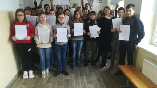 Ypatingą pagarbą gimtajai kalbai pademonstravo 244 rajono gyventojai