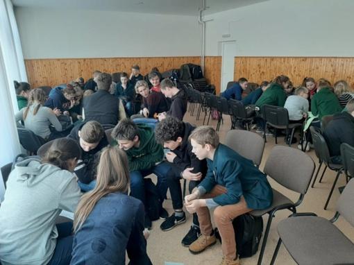 Tverų gimnazija paminėjo gimtosios kalbos dieną