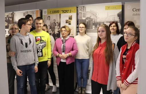 Įdomi jaunųjų lentvariečių pažintis su žydų bendruomene