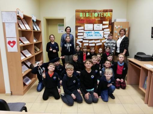 """Vilkyškių bibliotekoje – rytmetis vaikams """"Raidžių šokis nenuoramų šaly…"""""""