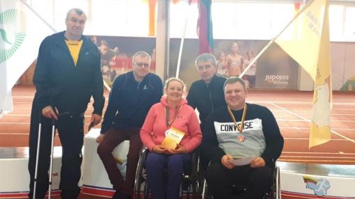 Lietuvos neįgaliųjų lengvosios atletikos čempionate panevėžiečiams šypsojosi sėkmė