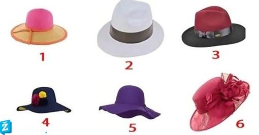 Pasirinkite skrybėlę ir sužinokite, ką apie jus mano kiti