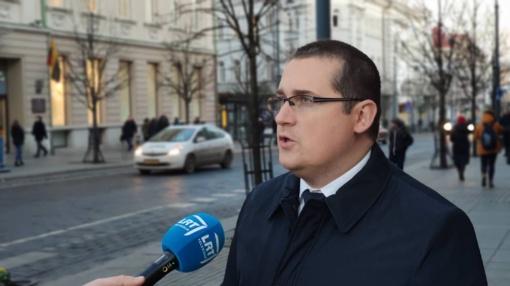 S. Malinauskas traukiasi iš S. Skvernelio patarėjo pareigų