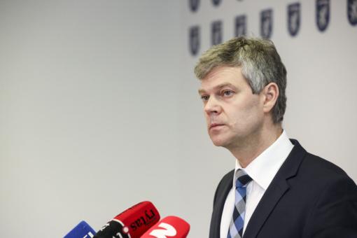 VSD direktorius: negali būti nė kalbos apie spaudimą pranešėjui