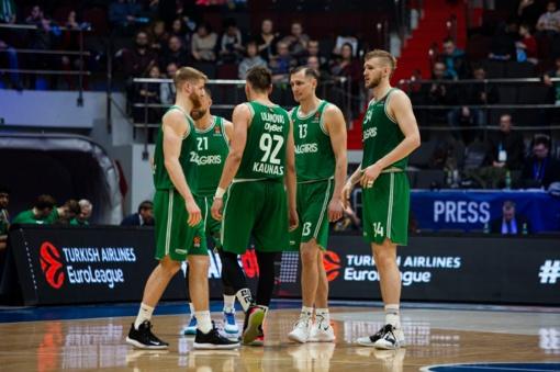 """Kauno """"Žalgirio"""" pergalių serija nutrūko prieš Sankt Peterburgo """"Zenit"""""""