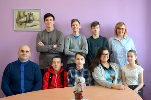 Ragainės progimnazija - viena iš tarptautinės programos DofE dalyvių mieste