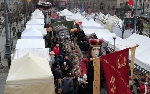 Vilniuje prasideda Kaziuko mugė