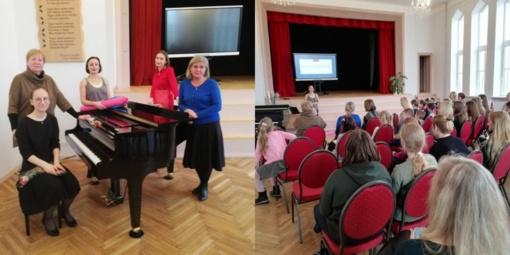 Pagėgių savivaldybės Meno ir sporto mokykloje įvyko metodinė diena