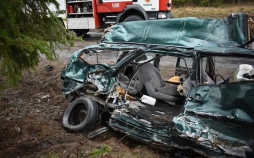 Avarija Tauragės rajone: žuvusi mergaitė šiandien šventė 9-ąjį gimtadienį