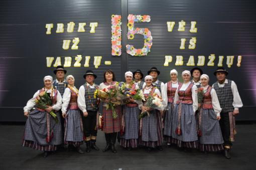 """Lentvario šokių kolektyvas """"Lendvarė"""" pakvietė į 15 metų jubiliejinį koncertą"""