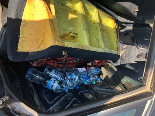 Šilalės rajone įkliuvo nelegalų alkoholį gabenęs šilutiškis